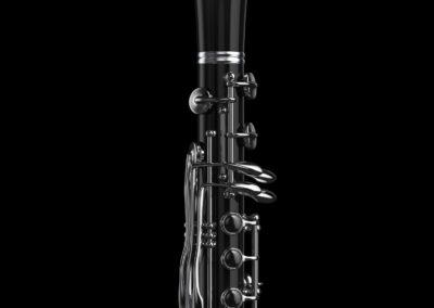 3D CGI Clarinet