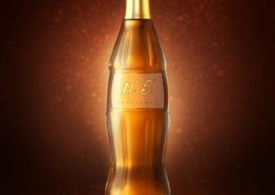 3D CGI Coca Perfume