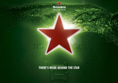 3D CGI Heineken