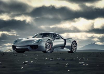 3D CGI Porsche 918