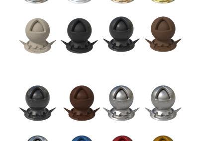 3D CGI Shaderballs