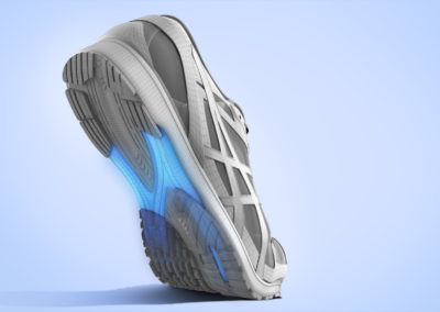 3D CGI Shoe