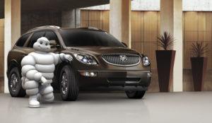 Car and Michelin Man Retouching