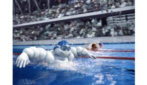 Swimming Race Retouching