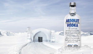 Absolut Vodka Retouching After