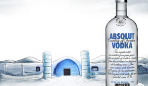 Absolut Vodka Retouching Before