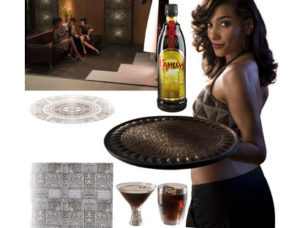 Alcohol Ad Retouching Before