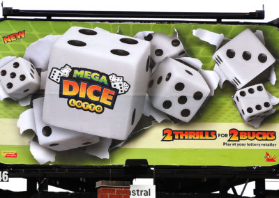 Billboard Dice Retouching in Canada