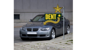 Car Retouching Dent Before