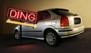 Ding Car Retouching After