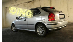 Ding Car Retouching Before