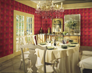 Dining Room Retouching After