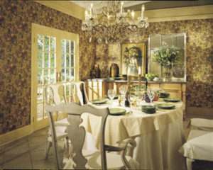Dining Room Retouching Before