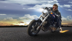 Motorcycle Retouching After
