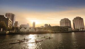 City and Kayaking Retouching
