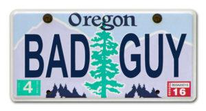 License Plate Retouching